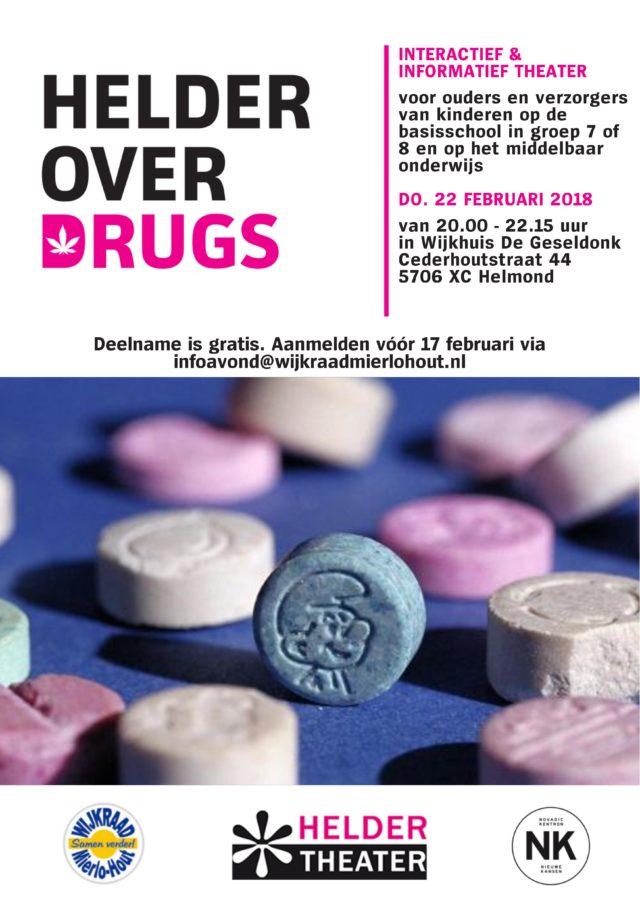 """Informatieavond """"Helder over drugs"""""""