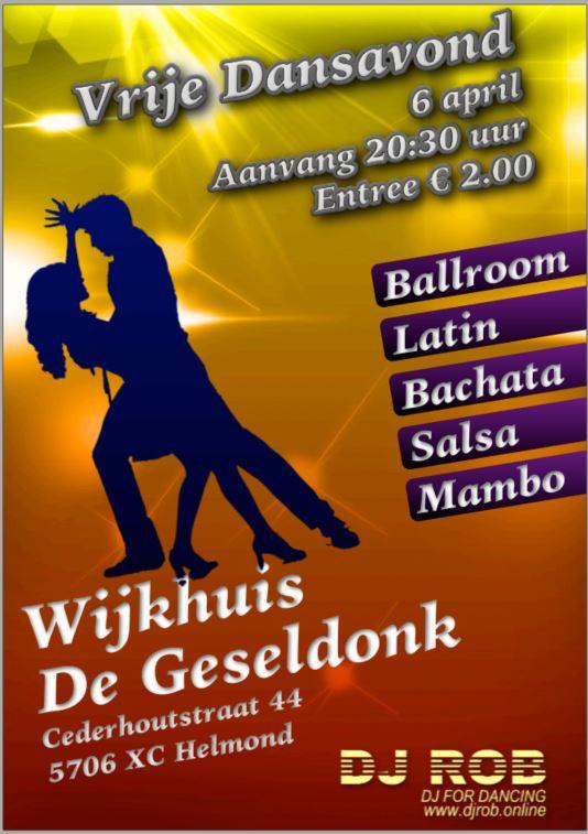 Gezellige dansavond in De Geseldonk