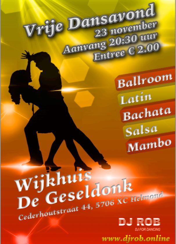 Dansen in De Geseldonk